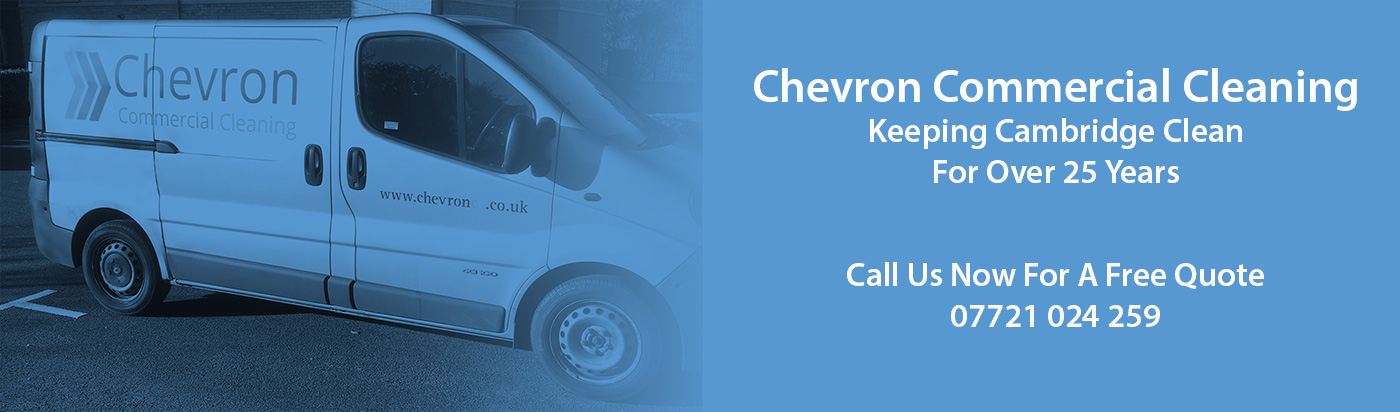 Chevron Office Cleaning | Commercial Industrial Cleaning | Cleaners Cambridge